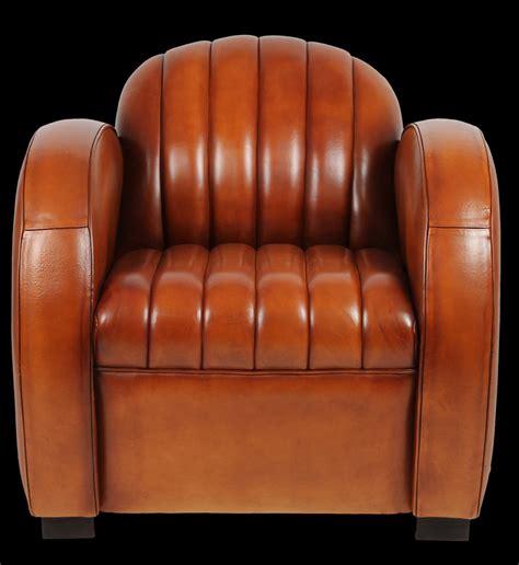 fauteuil club dallas en cuir de basane longfield 1880