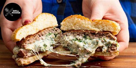 burger recipes easy hamburger ideas delishcom