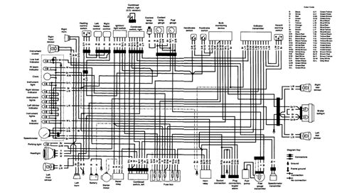 k1100 motorcycle 1992 to 1997 wiring diagrams and repair