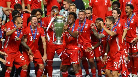 Bayern Munich Lifts The UCL Trophy After 6-years   EveryEvery