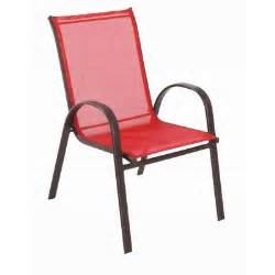 navona red sling patio chair fcs00015j red the home depot
