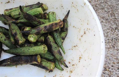 how to grill okra national eat your vegetables day mel joulwan well fed