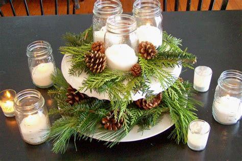 Easy Holiday Centerpieces, Mason Jar Christmas Centerpiece
