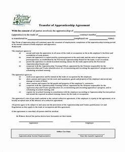 7 apprenticeship agreement form samples free sample With apprenticeship contract template