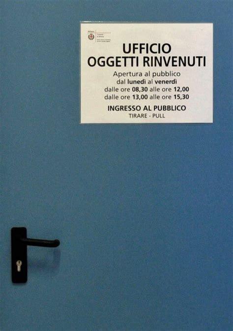 Ufficio Oggetti Smarriti by Oggetti Smarriti A