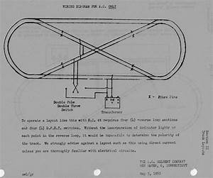 American Flyer Reverse Loop Layout