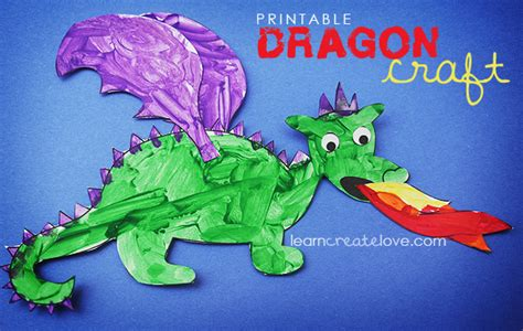 printable craft 480 | dragoncraft 1