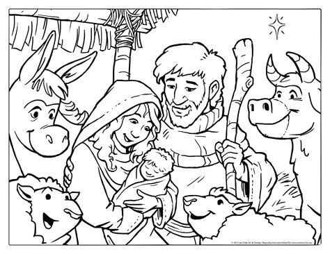 christmas coloring page wallpapers