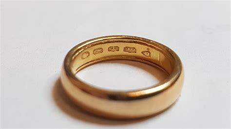 stolen 22 carat yellow gold wedding band cash express repair centre