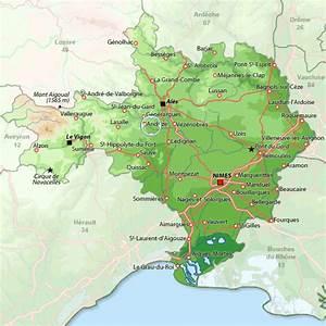 Maison à Boisset et Gaujac, location vacances Gard : Disponible pour 6 personnes Pour vos