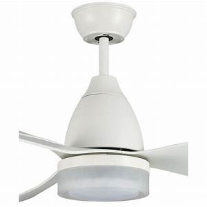Ventilateur Plafond Reversible : ventilateur de plafond dc design avec lampe led pales abs ~ Voncanada.com Idées de Décoration