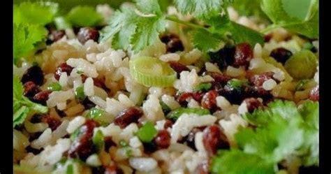comment cuisiner les haricots azukis mamie sha salade de riz et haricots azukis mamie shä