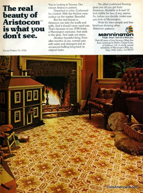 rock flooring kitchen a variety of vinyl kitchen floors from the 1970s click 1975