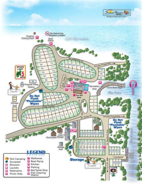 florida rv lake rousseau resort fishing crystal river map campgrounds camping near mobilerving amenities