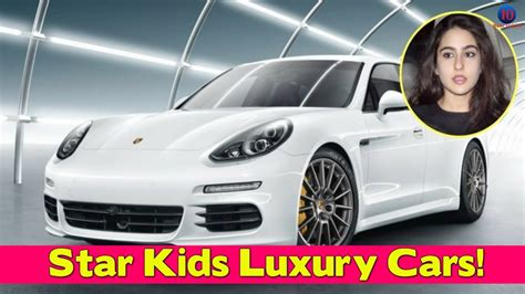 Bollywood Star Kids And Their Fascinating Luxury Cars