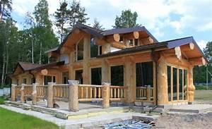 Maison Rondin Bois : prix construction maison en rondin de bois chalet fuste ~ Melissatoandfro.com Idées de Décoration