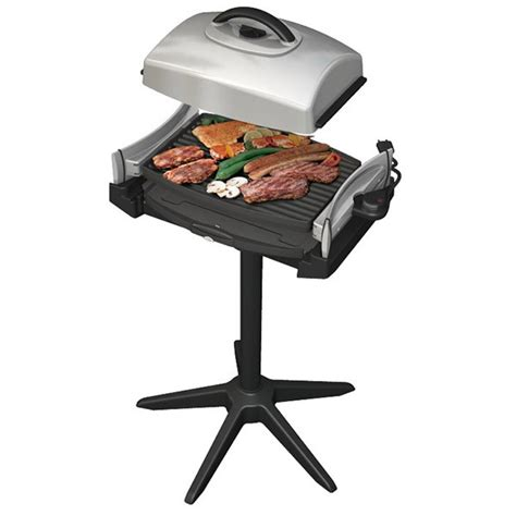 wik barbecue 233 lectrique grill plancha sur pied 2000w
