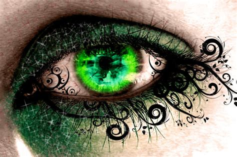 Green Eye Wallpaper By Snakeyjake666 On Deviantart