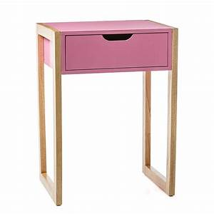 Adairs Kids - Parker Side Table Pink - Home & Gifts