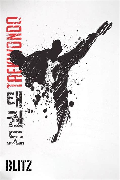 blitz taekwondo iphone wallpaper    color book