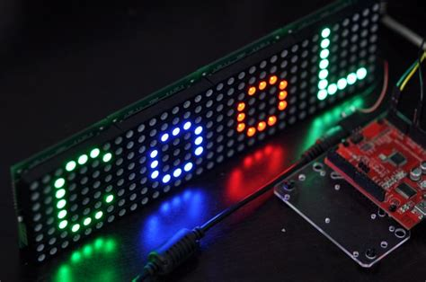 Rainbowduino Led Driver Platform Microcontroller