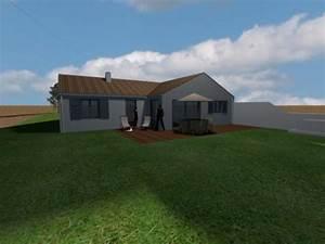 construction de la maison en 3d avec sweet home 3d With maison sweet home 3d