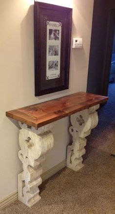 wall mounted entry table corbel tables on pinterest entry tables wall mounted