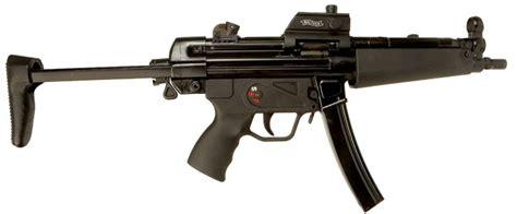 deactivated heckler koch mp mm submachine gun modern deactivated guns deactivated guns