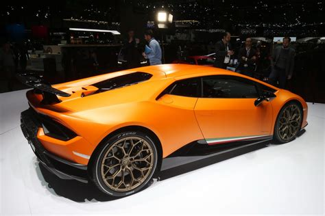 Lamborghini's New Huracan Performante Wants To Be The New