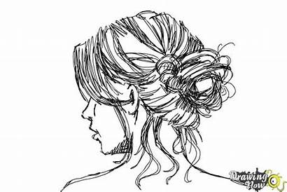 Messy Draw Bun Drawing Step Coloring Drawings