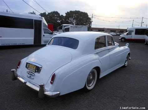 Classic Limo by Used 1960 Rolls Royce Silver Cloud Antique Classic Limo