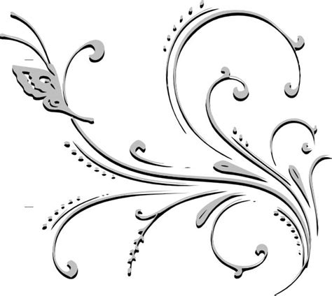 black and white flower clipart flower black and white black flowers clip danasojgf