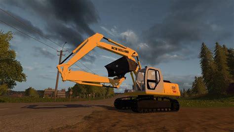 kobelco excavator pack  fs farming simulator