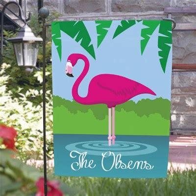 flamingo garden flags pink flamingo flag personalized pink flamingo flag