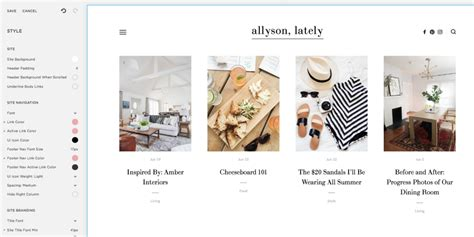 squarespace blog how to build a with squarespace the everygirl