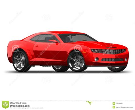 modern american muscle car royalty free stock images
