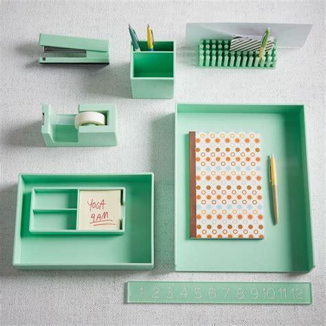 color pop desk accessories mint west elm