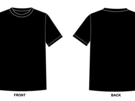 T Shirt Blank Template by Blank Tshirt Template Black In 1080p Hd Wallpapers