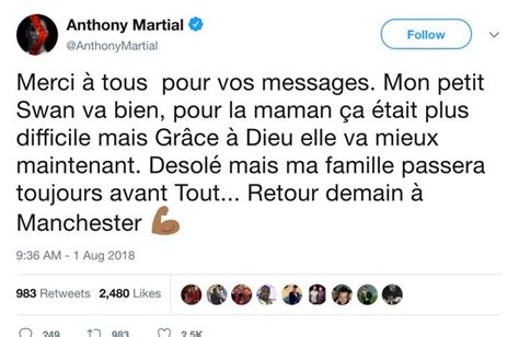 Anthony Martial hits back at Jose Mourinho after failing ...