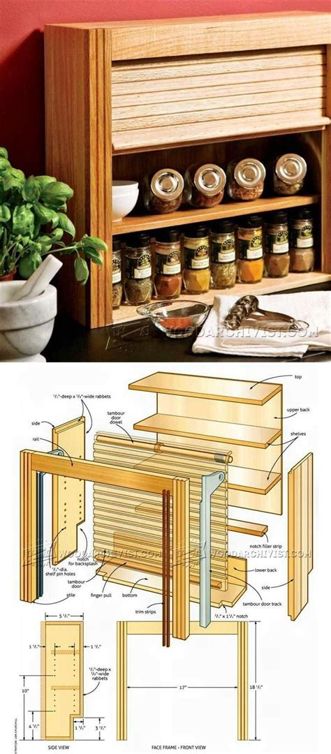 Woodworking Plans Spice Rack by 25 Best Ideas About Spice Racks On Spice Rack