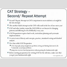 Cat 2013  Cat Prep Strategy For Repeat Students Spanedea