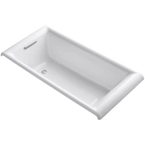 drop in cast iron tub kohler parity 5 6 inch cast iron drop in non