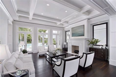 coffered beam ceilings kitchen traditional with butcher