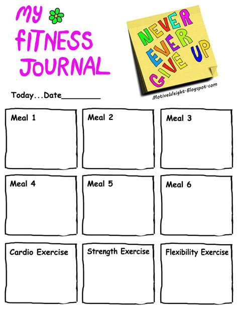 fitness journal workout journal quotes quotesgram