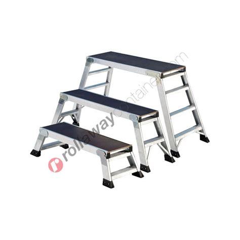 sgabello alluminio sgabello richiudibile alluminio doppia salita