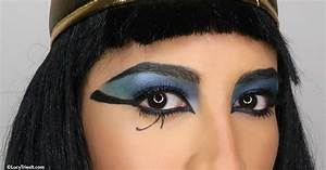 Cleopatra Makeup For Halloween With Tips For Oily Skin!