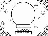 Crystal Ball Clip Pages Clipart Teller Fortune Colouring Coloring Template Clker Sketch Printablecolouringpages Larger Credit Vector Clipartbarn sketch template