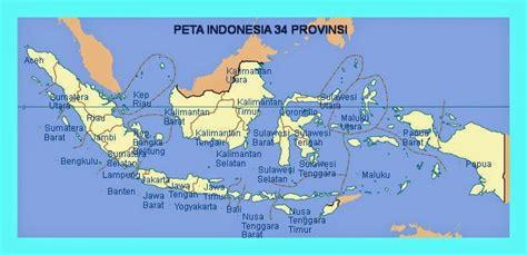 mudah belajar ips smp peta  provinsi  indonesia