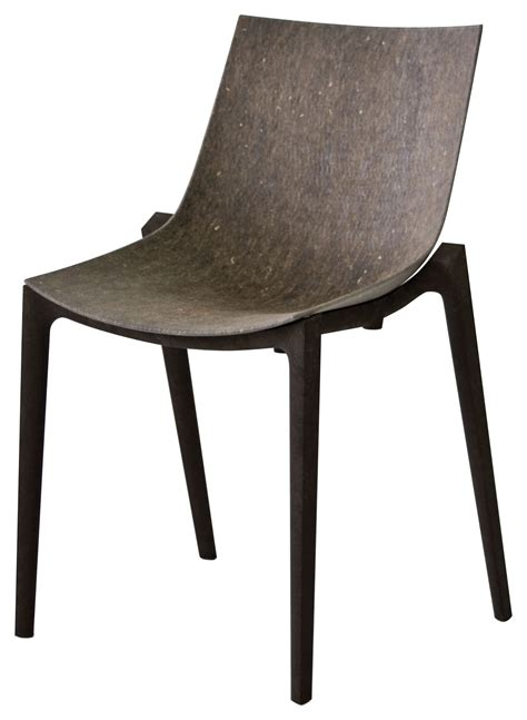 chaise starck transparente zartan eco stackable chair hemp fiber grey seat
