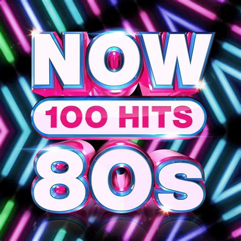 Now 100 Hits: 80s | CD Box Set | Free shipping over £20 ...
